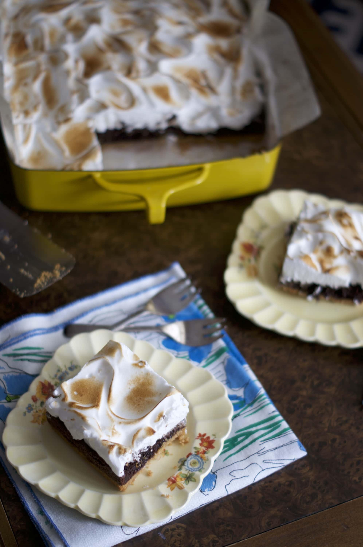 S'mores Brownies Sneak Peek | via Midwest Nice Blog
