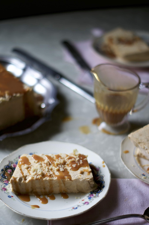 Pumpkin Pie-Scream Semifreddo via Midwest Nice Blog