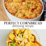 A pin to share a cornbread dressing recipe